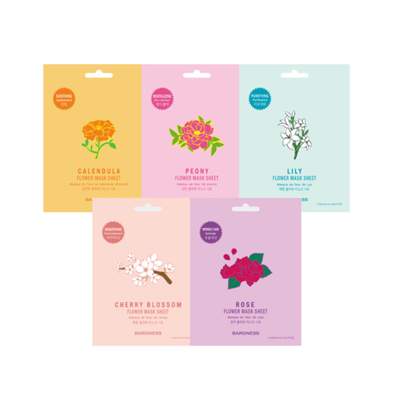 BARONESS Flower Mask Sheet 5