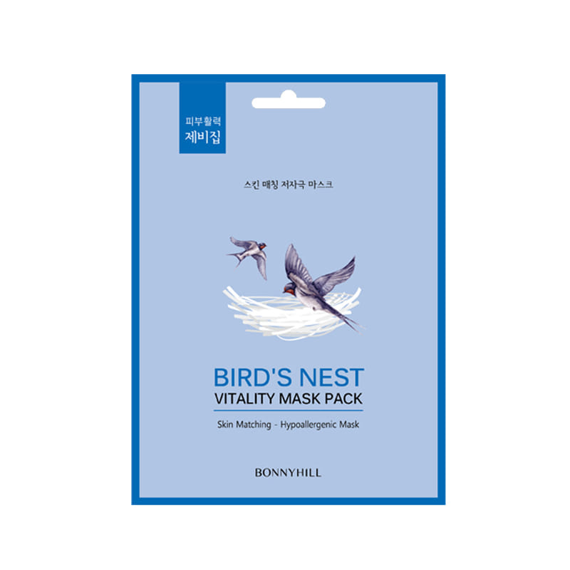 BONNYHILL Bird's Nest Vitality Mask Pack